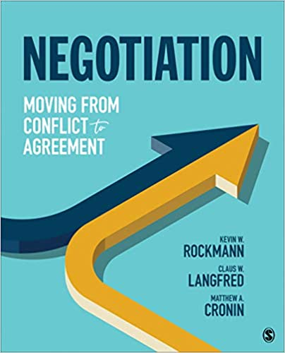 Negotiation Moving from Conflict to Agreement