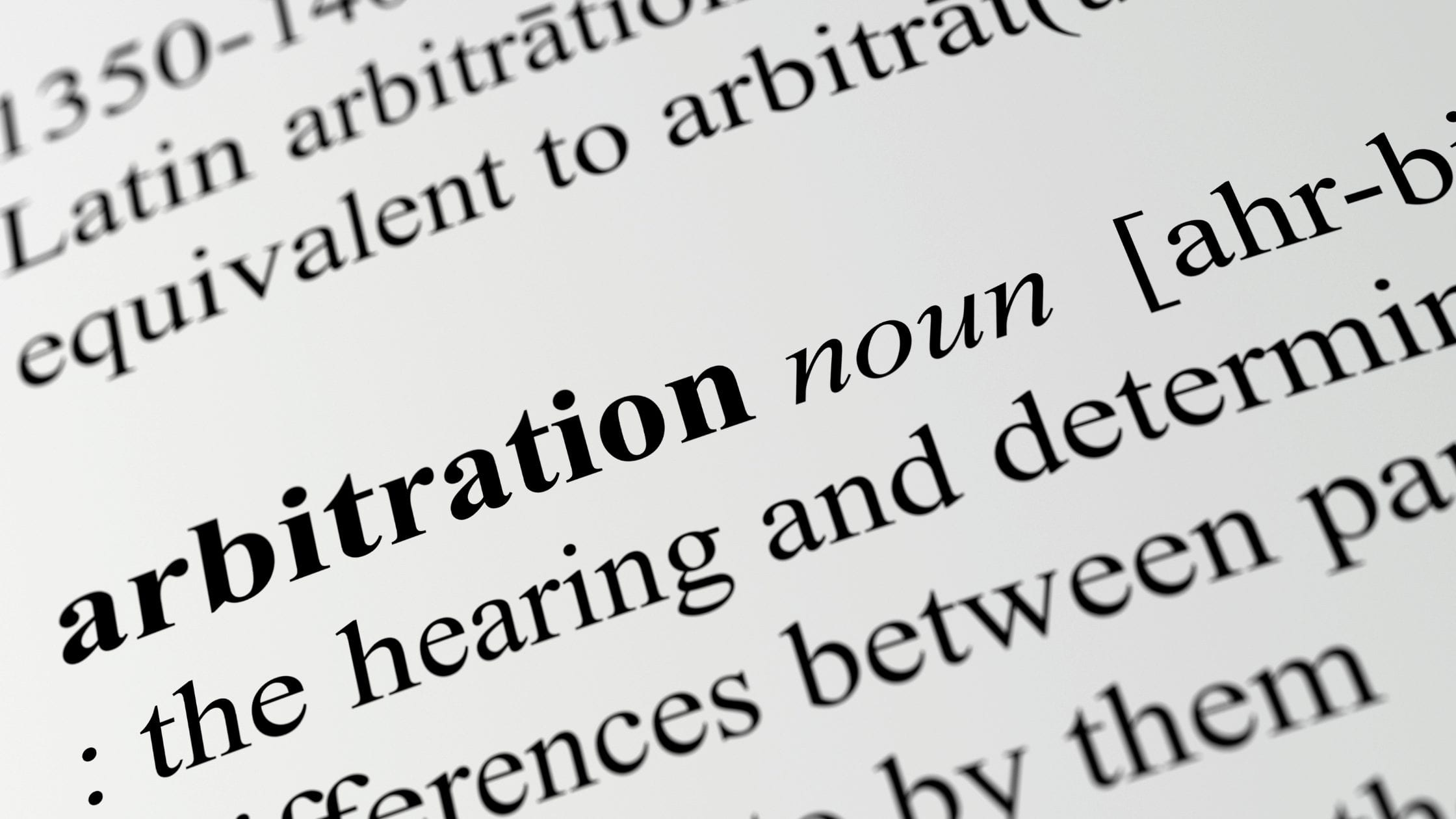 How much does arbitration cost?